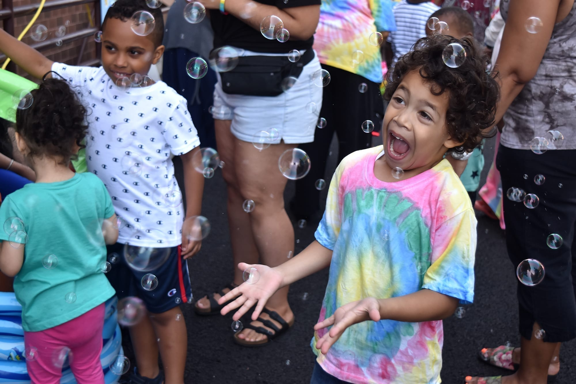The Summer Carnival made for a bubbly end to the school year for children attending Howard Haber ELC.