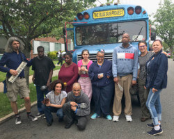 Blue Bus Project and Far Rockaway Day Center Collaborate on Lyrical Play
