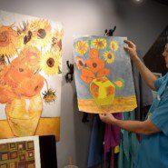 Jon explains the process used in the interpretive works of artist, Timotheus Davis
