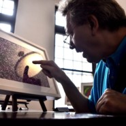Jon explores the details of Oswald James's work, exhibited at Poe Park Visitors Center in the Bronx.