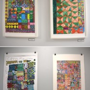 Works from artist, Carol Fields are among a host of creative works that adorn the walls of AHRC Fisher Day Center