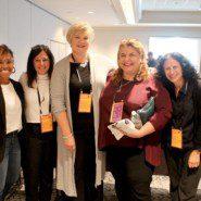 Shauna Lozada, Michele Shapiro, Betsy Lynam, Katerina Chatzistyli, and Heather Gazzaley at the 2019 Arc National Convention