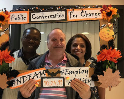 AHRC NYC's Residential Services Participates in Conversations for Change