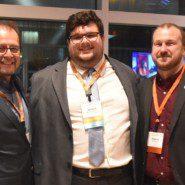 Marco Damiani with Michael Carbonaro and Matthew Estep