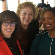 Edie Weber, Meri Krassner, and A'isha Torrence