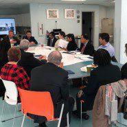 Legislators met with patrents, staff members, and self advocates in Queens