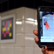 The NaviLens app used QR codes to deliver audio versions of train directions, arrival information, and more.