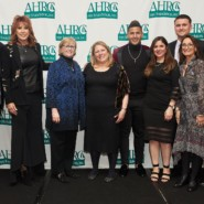 AHRC NYC Foundation staff members with the 2020 Munson Dinner honorees.