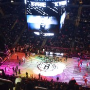 AHRC NYC attendees were treated to an electric performance by Nets star Kyrie Irving.