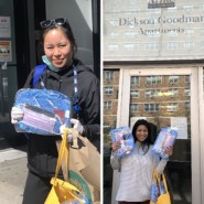 Delivering supplies from AHRC NYC's Norfolk Adult Day Center to the Dickson Goodman Residence
