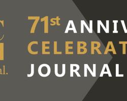 The 71st Anniversary Celebration – Journal