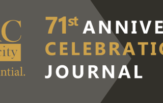 71st Anniversary Celebration Journal