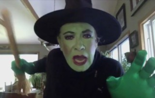 Susan Cella as The Wicked Witch of the West