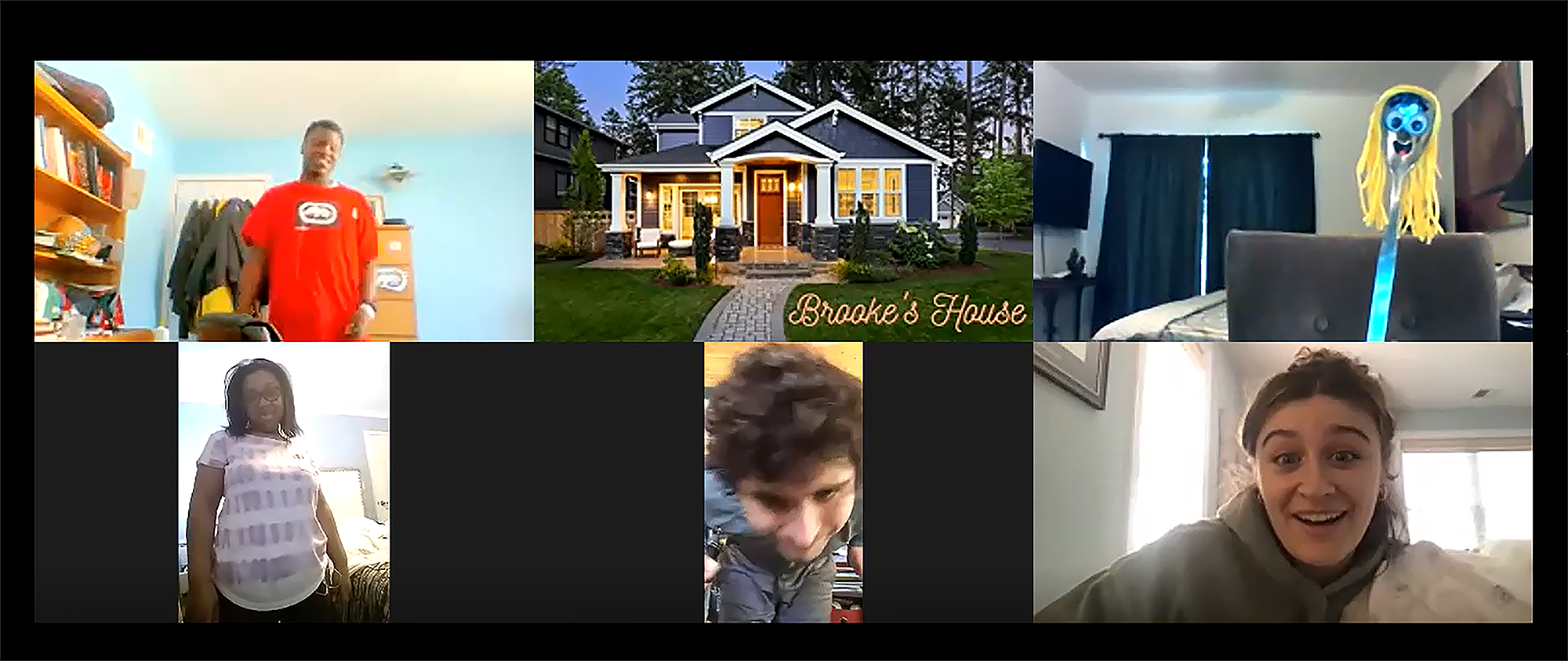Another look at Brooke's House.