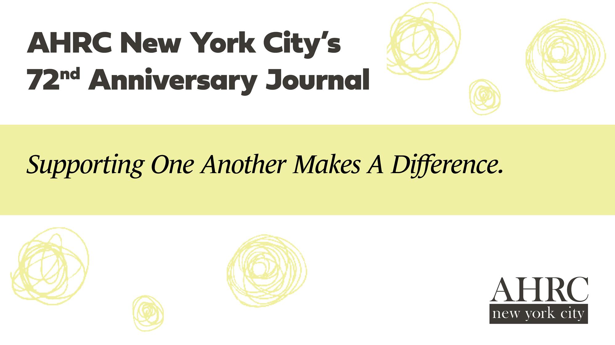 72nd Annual Dinner Journal