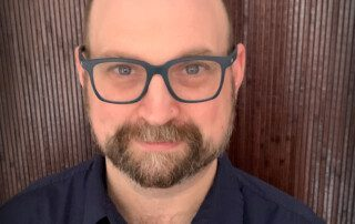 Jason Conover, PEIR Program Manager for AHRC New York City's Family and Clinical Services