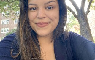 Jessica Taveras, Marketing Database Coordinator with the Public Information Department, AHRC NYC